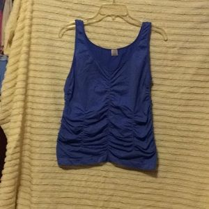 Tops - A blue top size 1X